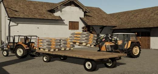 Photo of FS19 – Flatbed Trailer V1