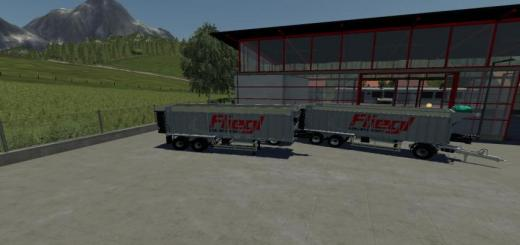 Photo of FS19 – Fliegl Ass 298 Mit Dolly V1