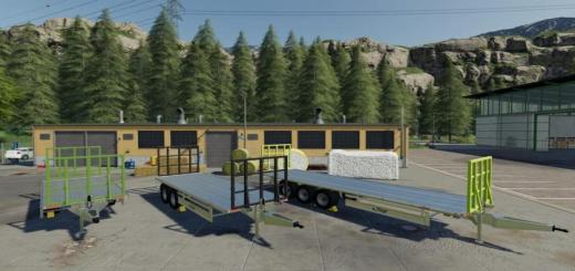 Photo of FS19 – Fliegl Tpw Bale Trailer Set V1.2.1