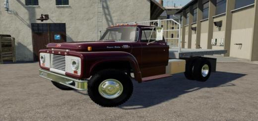 Photo of FS19 – Ford T850 1964 Flatbed V1.1