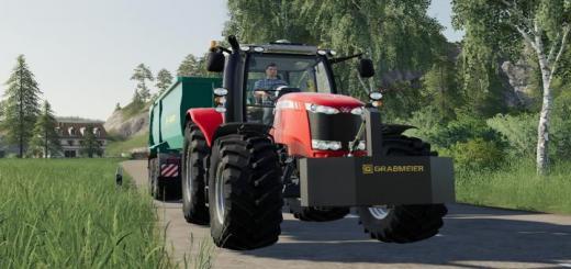 Photo of FS19 – Grabmeier Gewichte V1