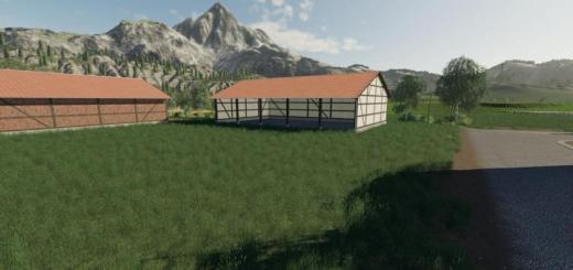 Photo of FS19 – Half-Timbered Building Pack V1