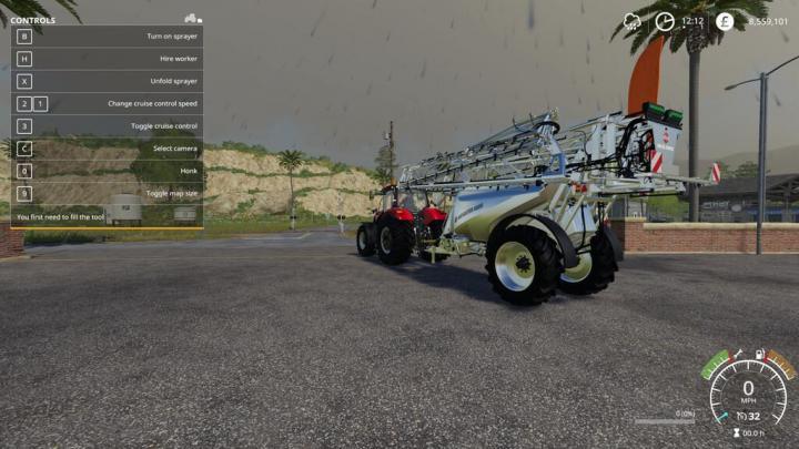 FS19 - Hardi Interactive Sprayers V1.9