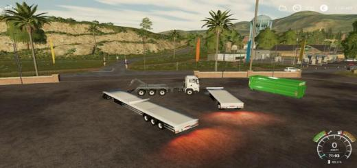 Photo of FS19 – Hkl Container Trailer V1