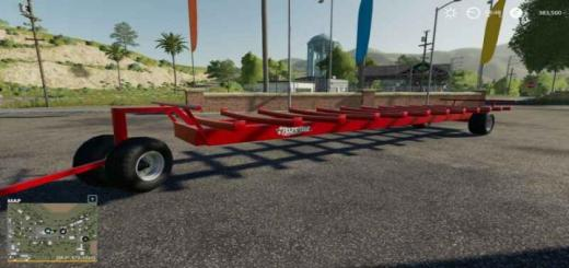 Photo of FS19 – Jbm Round Bale Mighty Hauler V1
