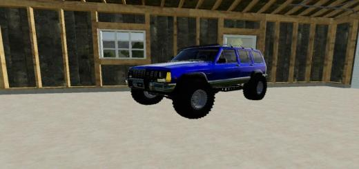Photo of FS19 – Jeep Cherokee Converted V1