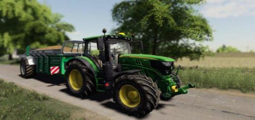 Photo of FS19 – John Deere 6R Series 135-155R V1