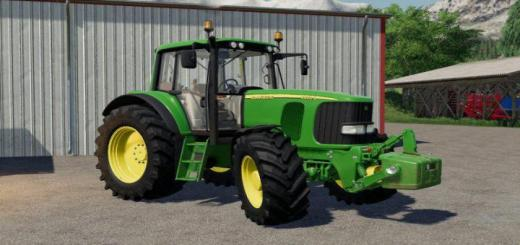 Photo of FS19 – John Deere 6X20 Series Sound Update V1