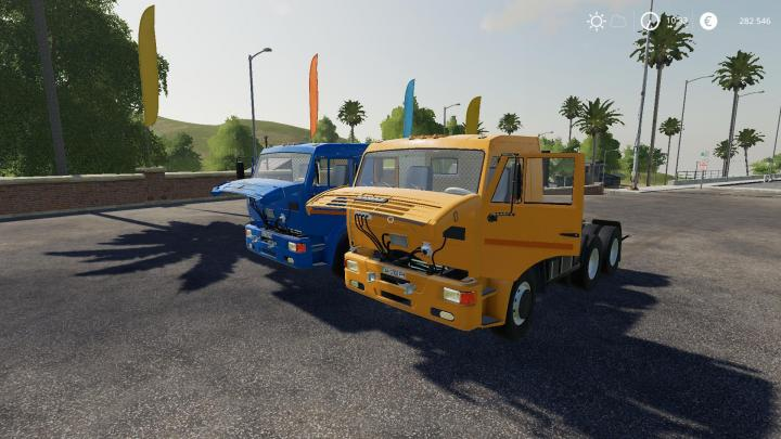 FS19 - Kamaz 65116 V2