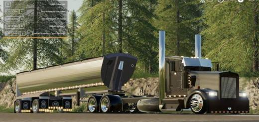 Photo of FS19 – Kenworth W900 Streetreaper V1