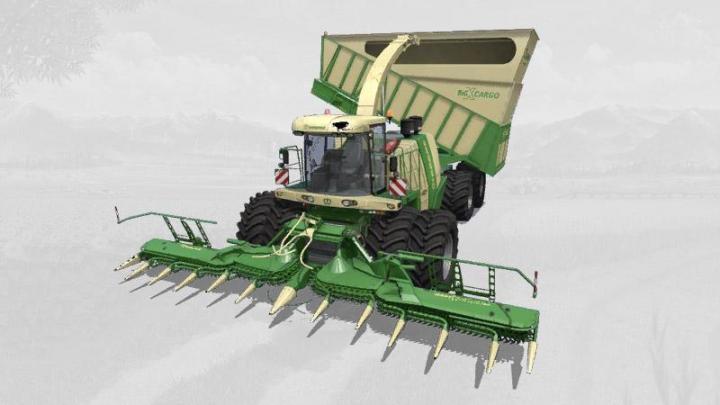 FS19 - Krone Bigx 1180 Cargo V1.2
