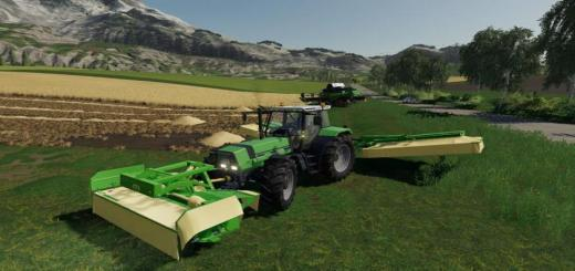 Photo of FS19 – Krone Mower Pack V1