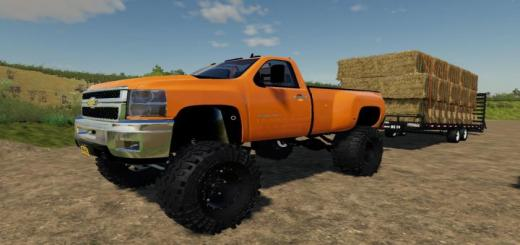 Photo of FS19 – Lifted 2013 Chevy 3500Hd V1