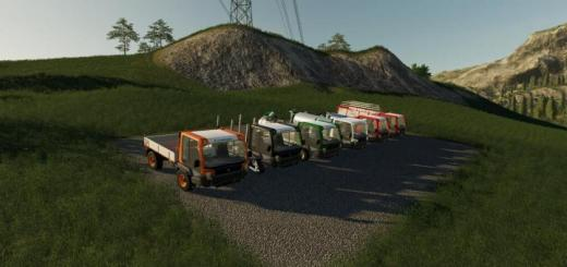 Photo of FS19 – Lindner Unitrac Pack V1.1