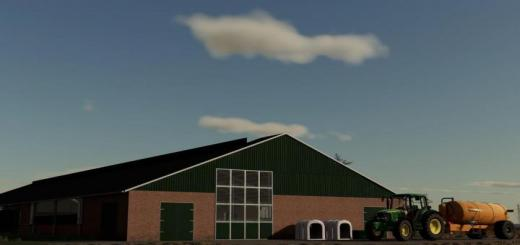 Photo of FS19 – Long Cowshed Europe V1