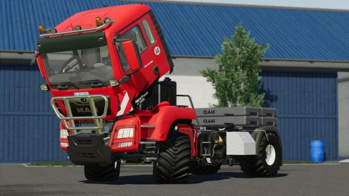 FS19 - Man Tgs Agro Truck V1