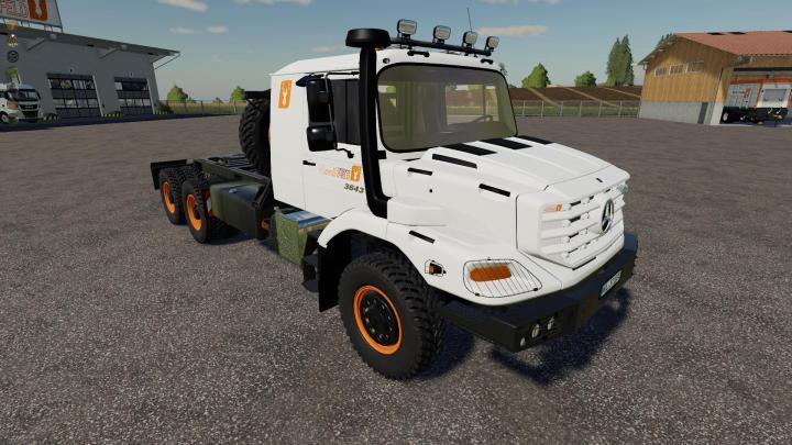 FS19 - Mercedes-Benz Zetros 3643 6X6 V1