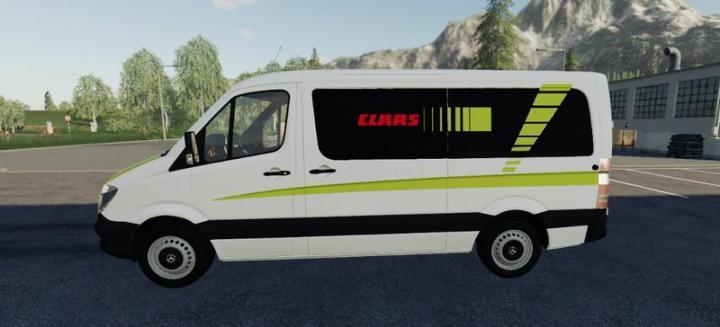 FS19 - Mercedes Sprinter Claas Service V1.5