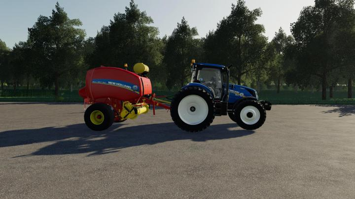 FS19 - New Holland 460 Baler V1.0.0.1