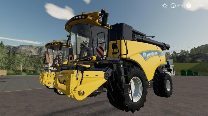 FS19 - New Holland Cr1090 V1