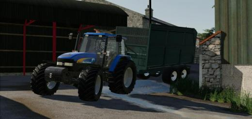 Photo of FS19 – New Holland Tm170 V1