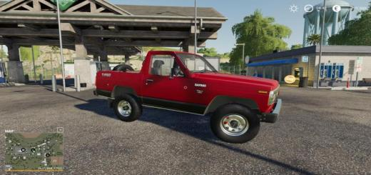 Photo of FS19 – Nissan Safari Hard Top 1983 V2