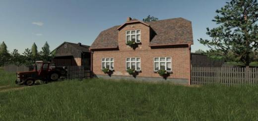 Photo of FS19 – Old Brick House V1