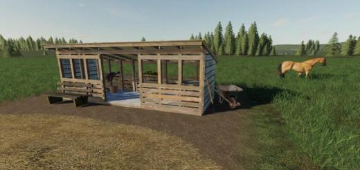 Photo of FS19 – Open Horse Pasture V1