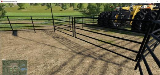 Photo of FS19 – Pipe Fence Pack V1