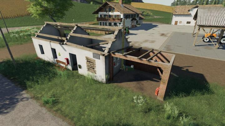 FS19 - Placeable Ruins House Pack V1