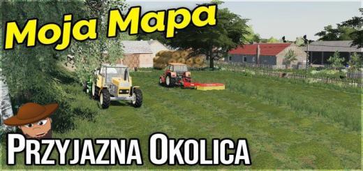 Photo of FS19 – Przyjazna Okolica Map V1