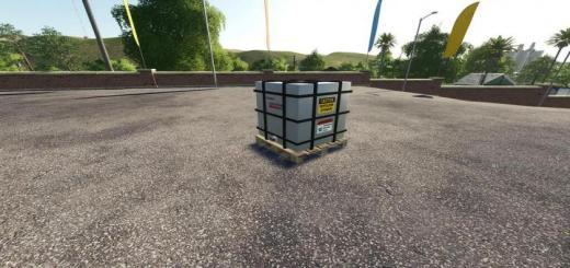 Photo of FS19 – Refillable Ibc Tank Magic Fill V1