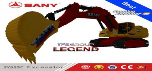 Photo of FS19 – Sany Sy935C Big Excavator V1.5
