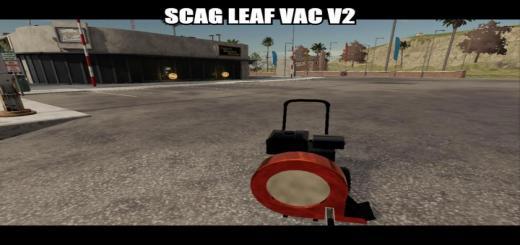 Photo of FS19 – Scag Leaf Blower V2