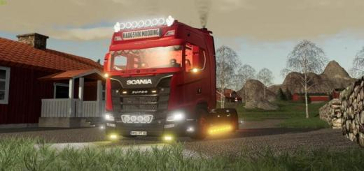 Photo of FS19 – Scania S580 V8 V1