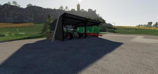 Photo of FS19 – Small Wooden Shelter V1