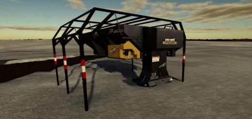 Photo of FS19 – Truck Mounted Salt Spreader V1