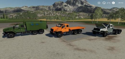 Photo of FS19 – Ural Next T25 420 6X4 Pack V1