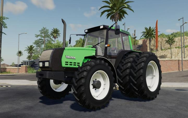 FS19 - Valmet 6400 Turbo Tractor Power V1.1
