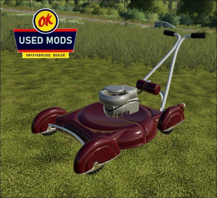 FS19 - Vintage Push Mower V1