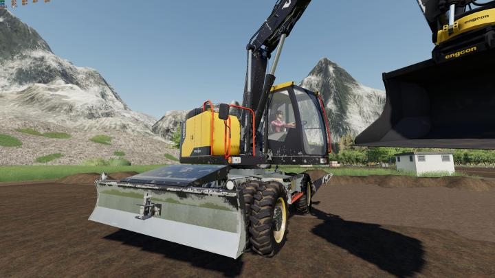 FS19 - Volvo 150 Ewr - 150E (Controls Fix) V1
