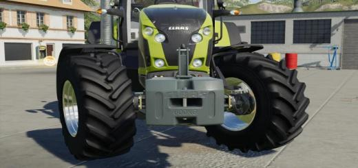 Photo of FS19 – Weights Claas V1