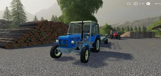 Photo of FS19 – Zetor 6911 Blue Tractor V1