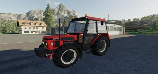 Photo of FS19 – Zetor 7245 Tractor V1
