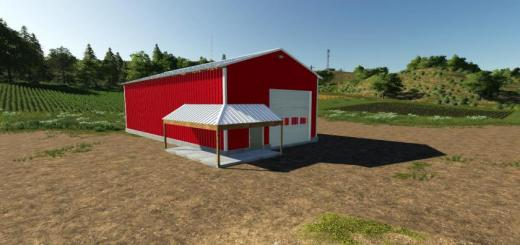 Photo of FS19 – 30 X 60 Work Shop Shed V1