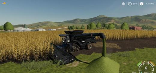 Photo of FS19 – Agco Ideal9 Forage Harvester + Cutter V1