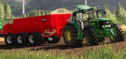 Photo of FS19 – Beco Muldenkipper V1