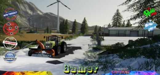 Photo of FS19 – Belgique Snow Map V1
