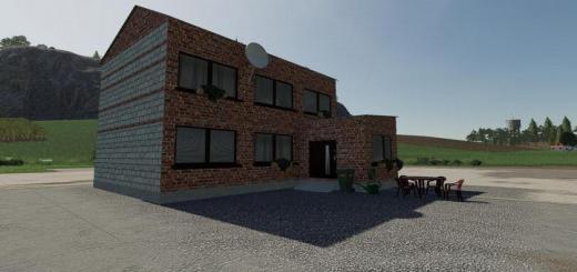 Photo of FS19 – Big Brick House V1
