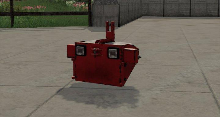 FS19 - Botch Weight V1